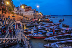 Varanasi, India (Ben Perek Photography) Tags: asia india varanasi ganga river ganges holy oldest city ghat pilgrims piligrim water amazing beautiful hindu hinduism interesting cultural culture boat boats