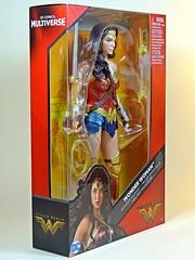 Mattel – DC Comics Multiverse – Wonder Woman – Box Art Side (My Toy Museum) Tags: mattel dc comics multiverse wonder woman action figure