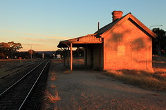 Ben Bullen Railway Station (Darren Schiller) Tags: benbullen abandoned australia architecture building closed derelict disused decaying deserted dilapidated decay evening history heritage infrastructure newsouthwales old rustic rural ruins rusty railway smalltown sunset tracks
