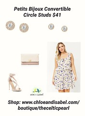 Today's Featured Item: Petits Bijoux Convertible Circle Studs $41 Shop: https://www.chloeandisabel.com/boutique/thecelticpearl/products/E487DISG/petits-bijoux-convertible-circle-studs-1  Finding the perfect pair for every ensemble, mood + birthstone month (thecelticpearl) Tags: garnet crystal aquamarine style thecelticpearl trend ootd daily product peridot opal shiny shopping earrings online crystals featured summer accessories clear trendy shop amethyst diamond guarantee chloeandisabel fashion ruby cubiczirconia silver alexandrite sapphire buy jewelry bluetopaz love trending trends boutique topaz emerald lifetime gold