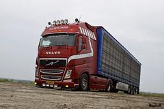 """Volvo FH IV """" TIJS DE KONING """" (NL) (magicv8m) Tags: volvo fh iv tijsdekoning nl tir trans transport lkw livestock farm chicken"""