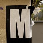 M. Lettre de l'alphabet thumbnail