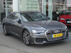 New Audi A6 (harry_nl) Tags: netherlands nederland 2018 demeern audi a6 quattro sidecode9 tb769d