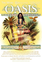 Oasis Grand Opening (the_innocence) Tags: roleplay desert oasis themuses senzafine pm papermoon benefit sand palmtrees genie gofundme grand opening