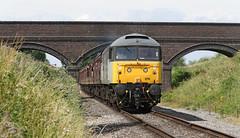 47376 Class 47/3 (1965) (Roger Wasley) Tags: 47376 class47 dixtonbridge gwsr gloucestershire warwickshire steam railway trains railways locomotive