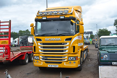 Bridgepoint Scania G440, Ballee, 21st Jul 2018 (nathanlawrence785) Tags: vehicle transport truck car show festival ballymena coleraine steam rally armed forces day scania daf erf volvo humber challenger 2 tank mbt