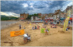 On the South Bay beach 2018 (bob the bolder) Tags: uk yorkshire scarborough southbay beach thurstonhopkins