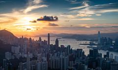 Jardine Lookout , Hong Kong (kkanok403) Tags: jardine lookout hong kong olympus omd em5ii m43 panasonic 35100 f3556 cityscape sunset twilight micro 43 f456 lumix g vario 35100f4056 f4056 em5markii