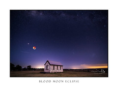 Blood moon  mars and starry sky over little timber church (sugarbellaleah) Tags: universe moon bloodmoon timber religion chapel church rustic wood stars starrysky milkyway rural country night evening nighsky galaxy mars planets nature australia thisisaustralia astrophotography astrology science wedding spiritual worship christian christianity faith spirit holy god creator shining brightly lunar lunareclipse