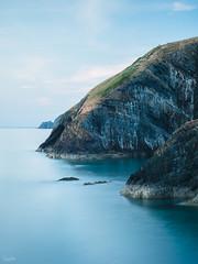 Ceibwr Bay (Steve_Mallett) Tags: ceibwr cliffs coastal evening landscape pembrokeshire rocks seascape treffynnon newport wales gbr