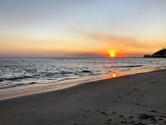 Malibu fire skies.