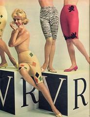 Van Raalte 1961 (barbiescanner) Tags: vintage retro fashion vintagefashion 60s 60sfashions 1960s 1960sfashions 1961 vintageadvertising 60sadvertising 1960sadvertising seventeen vanraalte vintagelingerie
