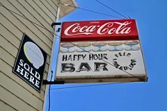 Happy Hour Bar, New Swanzy, MI (Robby Virus) Tags: newswanzy michigan mi up upper peninsula gwinn cocacola coke happy hour bar drinks alcohol booze liquor beer wine spirits dive