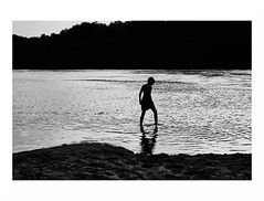 Summer time... (GlebLv) Tags: sony a6000 sel2870 river summertime summer water don yelets елец bw nb monochrome contrast дон 7dwf