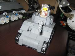 Sherman Tank (BattleBrick) (thelameguitarist) Tags: lego ww2 sherman tank