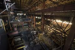 (michaelbrnd) Tags: heavy metal urbex urban exploration abandoned steel mill steelworks