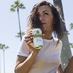 Alex for Kloud (sofiasamarah) Tags: approved alex potts model woman female girl kloud beer drink beverage teez agency venice beach california ad advertisement