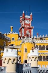 Sintra - Palácio Nacional da Pena (Rolandito.) Tags: europe europa portugal sintra palácio nacional da pena colors colours disney