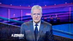 Trebek In Jeopardy! (Russ Allison Loar) Tags: alextrebek gameshow jeopardy retirement televisionshow outstandinggameshowhost emmyaward babyboomer rainman braingames alzheimers brainexercise dementia questionandanswer trivia memorization jeopardychampions kenjennings knowledge peabodyaward