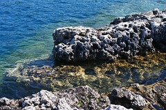 Back to Tobermory (sofiainspace) Tags: tobermory lake blue water rocks bruce peninsula bay
