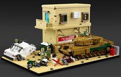 Leopard 2A4 (C.Ngoc) Tags: tank syria war lego leopard 2a4 afol