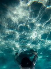 * (Timos L) Tags: underwater life man hands light shape face lightning street depth sand olympus tg4 tough timosl