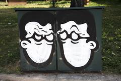 Me and... I (Pensive glance) Tags: graffiti image painting wall mur mural streetart artderue