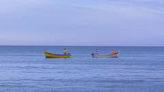Boats (W. von Zeidler) Tags: southeurope algarve portugal sky blue meer ocean water boat
