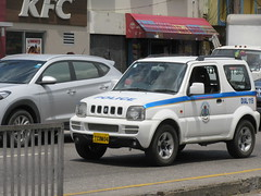 Jamaica Constabulary Force Suzuki Jimny (JLaw45) Tags: jcf jamaicaconstabularyforce jamaicanpolice jamaicancops caribbeanpolice thinblueline jamaicalawenforcement lawenforcement policevehicle police cops law enforcement lawandorder publicservice publicservicevehicle emergencyvehicle emergency emergencyservices fleet safety security safetyandsecurity cop patrol legalsystem legal emergencyservice emergencyservicevehicle policecar copcar jamaicasecurity jamaicacops suzukisuv suzukivehicle japanesesuv 4x4 awd suzuki suzukitruck jimny suzukijimny