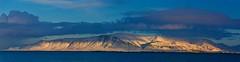 Obsession (Samer Farha) Tags: mtesja reykjavik iceland mountain sunlight clouds water harbor