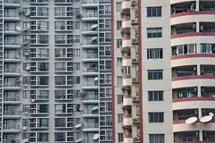 staples (Rasande Tyskar) Tags: china shanghai 2010 high rise flat buildings hochhaus hochhäuser wohnblocks block residential residents wohnen