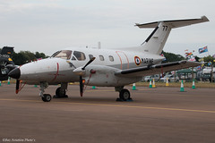 77 1307ii copy (Baz Aviation Photo's) Tags: 77 embraer emb121an xingu frenchnavy riat fairford