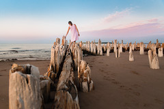 StPeters18-321-1 (carrieellengregory) Tags: 2018 beach carriegregoryphotography dunes july lighthouse pei road sand stpeters summer sunset warf water