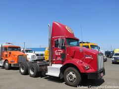Oak Harbor Freight Lines Kenworth T800 daycab, Truck# 2588C (Michael Cereghino (Avsfan118)) Tags: oak harbor freight lines ohfl kenworth kw t800 daycab tandem axle twin screw truck semi tractor bobtail