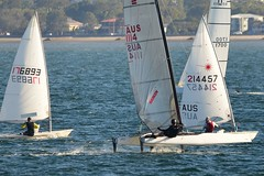 800_4970 (Lox Pix) Tags: queensland qld australia catamaran trimaran hyc humpybongyachtclub winterbash loxpix foilingcatamaran foiling bramblebay sailing race regatta woodypoint boat
