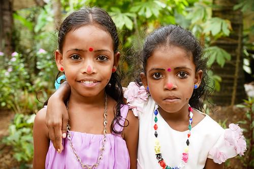 Sisters. Kerala, 2018