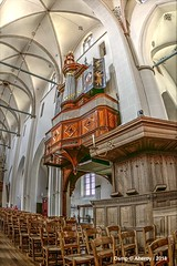 Slegelorgel.Grote of Andreaskerk ,interior,Hattem ,Gelderland,the Netherlands (Aheroy) Tags: 1225 groteofandreaskerk groteofandreaskerkhattem hattem aheroy aheroyal gelderland kerk church kirche eglesia eglise orgel chairs stoelen interior interieur romaans gothiek slegelorgel janslegel 1677 organ tonemapped andreaskerk muziekinstrument musicinstrument
