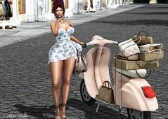 Look 134 (мαчєℓαι ηєιѕѕєя) Tags: second life blogger virtual fashion dress summer girls blogging secondlife sensual sweet fash clothes sl natural world legs