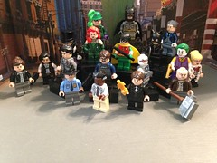 "Minifigures #18 ""Year One Cast"" (-InsomniCat-) Tags: minifigures lego cast batman dc"