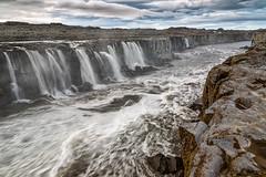 Roiling River (Kirk Lougheed) Tags: iceland icelandic jökulsááfjöllum norðurlandeystra selfoss landscape outdoor river water waterfall