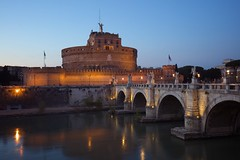 Castel Sant´Angelo - Rome (Jorgepevet) Tags: italy castelsantangelo trip travelling travelphotography travellingaroundtheworld throwback bluehour longexposure rome romephotography italyphotography romebluehour