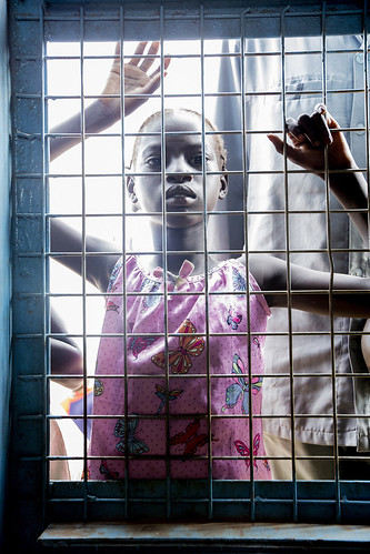 Displaced Child at Protection of Civilians Camp in Juba, South Sudan