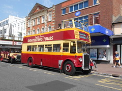 English Riviera Sightseeing Tours FFY 403 (Welsh Bus 18) Tags: englishrivierasightseeingtours leyland titan pd23 o56r ffy403 torquay strand southportcorporation 186 cobhambusmuseum