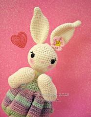 Hi!, I'm Cotton 💖 (Linayum) Tags: amigurumi bunny crochet ganchillo handmade katialanas cute kawaii sweet hechoamano pink linayum