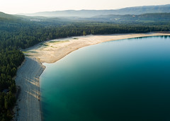 Smoke Signals (John Westrock) Tags: ronald washington unitedstates us nature landscape lake cleelumlake dronephotography djimavicpro dji mountains smoke fireseason washingtonstate pacificnorthwest