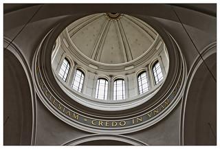 Kuppel in der St. Clemenskirche