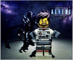 ALIENS (LegoKlyph) Tags: alien lego brick block custom art mini figure space ancient scifi horror xenomorph creature tv movie