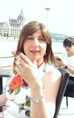Budapest - Boat tour (Alessia Cross) Tags: crossdresser tgirl transgender transvestite travestito
