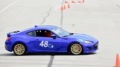 Racing BRZ  3 (R.A. Killmer) Tags: brz subaru autocross worldrallypearlblue blue gold race drive driver son fast slide cone nhscc 2018 2017 48 competition
