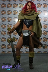 Comicdom Con Athens 2018: Prejudging - by SpirosK photography: Red Sonja (SpirosK photography) Tags: cosplay cosplaycontest costumeplay prejudging photoshoot portrait spiroskphotography redsonja comics comicdomconathens2018 comicdomcon2018 comicdomconathens comicdom2018